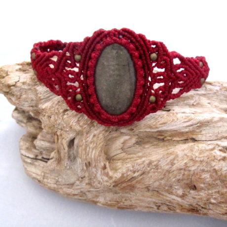 pulsera obsidiana dorada rojo2bis