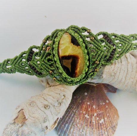pulsera septaria verde2