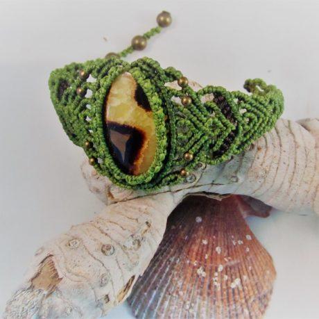 pulsera septaria verde3